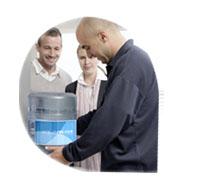 Fuente de agua para empresa y casa